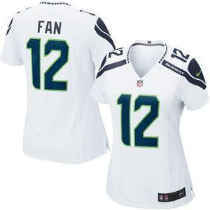 Women's Seattle Seahawks Fan 12s Jersey